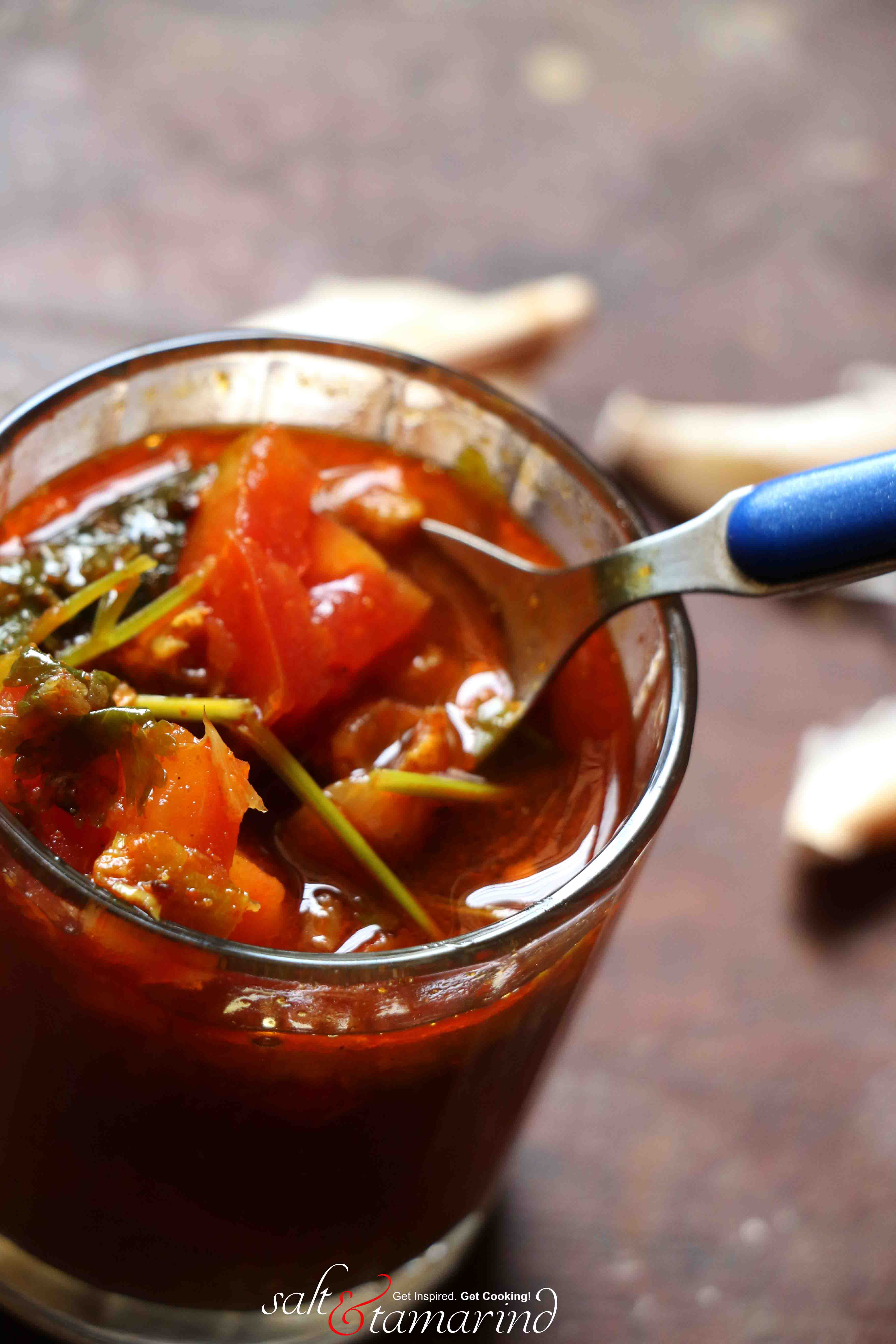 Rasam- A Mighty Indian Soup
