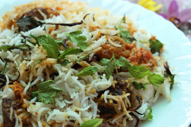 tuna fish biriyani