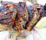 masala grilled tiger fish