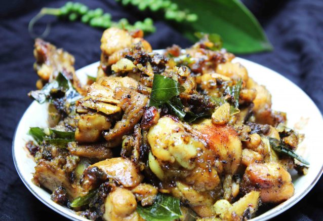 Pepper Chicken Kerala Style Recipe