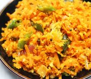 carrots and coconut stir fry