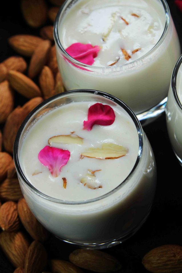 badam milk/almond milk