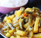 potato and green beans curry