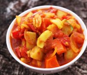 North Indian Style Mixed Vegetable Curry