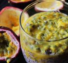Black Rice, Passion Fruit Pudding