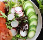 Mixed Green, Radish, Tomato, Cucumber Salad