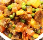 Lamb, Potato, Green Peas Stew