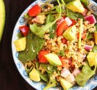 Freekeh, Quinoa, Avocado Salad