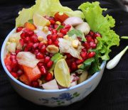 potato,pomegranate salad