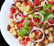 Mixed Beans Salad With Coconut