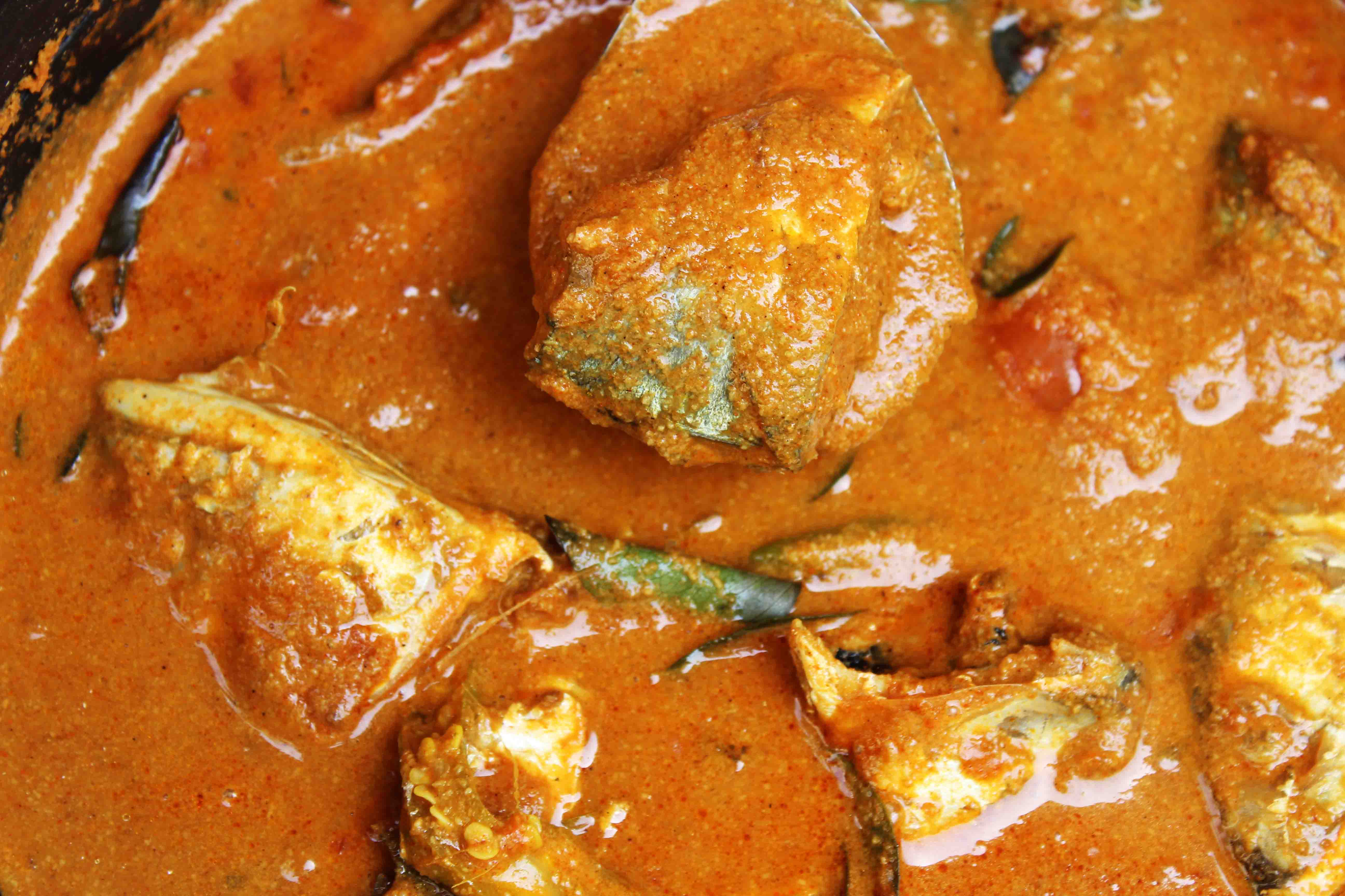 Ayala Meen Curry/Mackerel Fish Curry