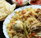 Spicy Chicken & Egg Biriyani