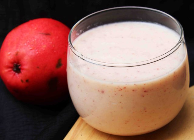 Reviving Red Pear Smoothie