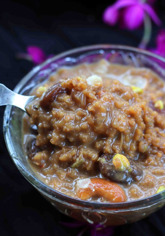 Gothambu Payasam / Wheat Payasam