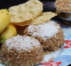 Gothambu Chiratta Puttu/ Wheat Flour Steam Cake