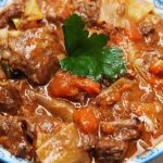 Smoky Beef & Root Vegetables Stew