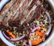 Beef & Quinoa Lunch Salad