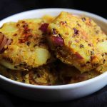 Spicy Quinoa & Potato Cake