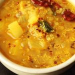 South Indian Style Quinoa & Potato Soup