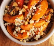 Quinoa & Roasted Apricot Summer Salad
