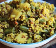 Spicy Quinoa & Vegetable Pulao