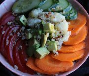 Quinoa Avocado Tomato Power Bowl