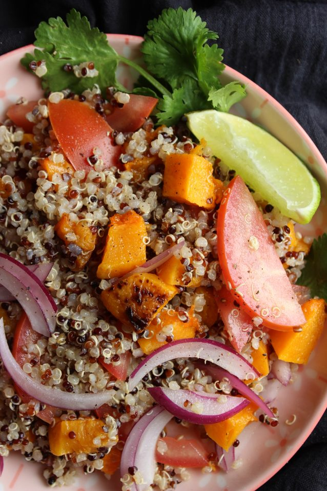 Quinoa & Roasted Butternut Squash Salad