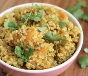 Spiced Pumpkin & Quinoa Bowl