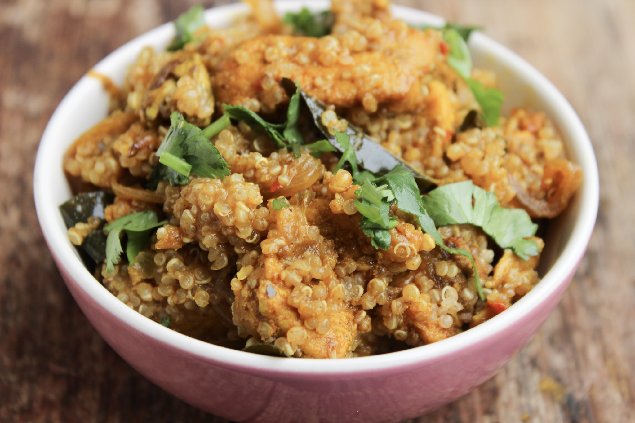 One Pot Spiced Chicken & Quinoa Recipe