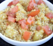 Potato & Quinoa Curry