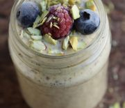 Saffron Flavoured Quinoa Smoothie