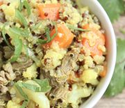 One Pot Beef, Quinoa & Turmeric Recipe..