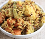 Spicy Vegetable & Quinoa Winter Pulao