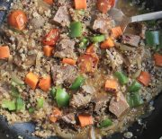 Spicy Quinoa & Goat Winter Stew