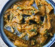 Spicy Baingan & Coconut Curry / Eggplant & Coconut Curry