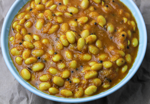Healthy Soy Bean Curry