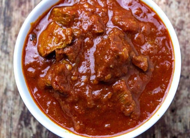 Christmas Special Lamb Curry