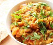 dry potato bhaji