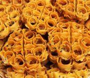 Achappam/ Kerala Style Rosette Cookies