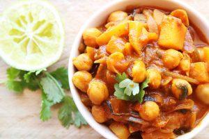 Chick Peas & Potato Curry/ Aloo & Chana Curry