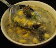 Chicken, Mushroom & Sweet Corn Soup