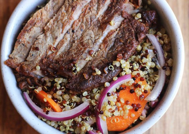 Beef & Quinoa Lunch Salad