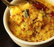 South Indian Style Quinoa & Potato Soup