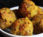 Pan Fried Quinoa & Vegetable Balls