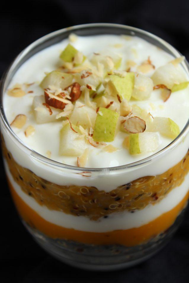 Quinoa & Pumpkin Pudding