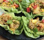 Vegan Quinoa Lettuce Wraps