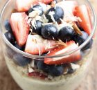 Saffron Flavoured Yogurt Quinoa & Berries