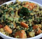 Vegan Vegetable, Split Pea & Quinoa Stew