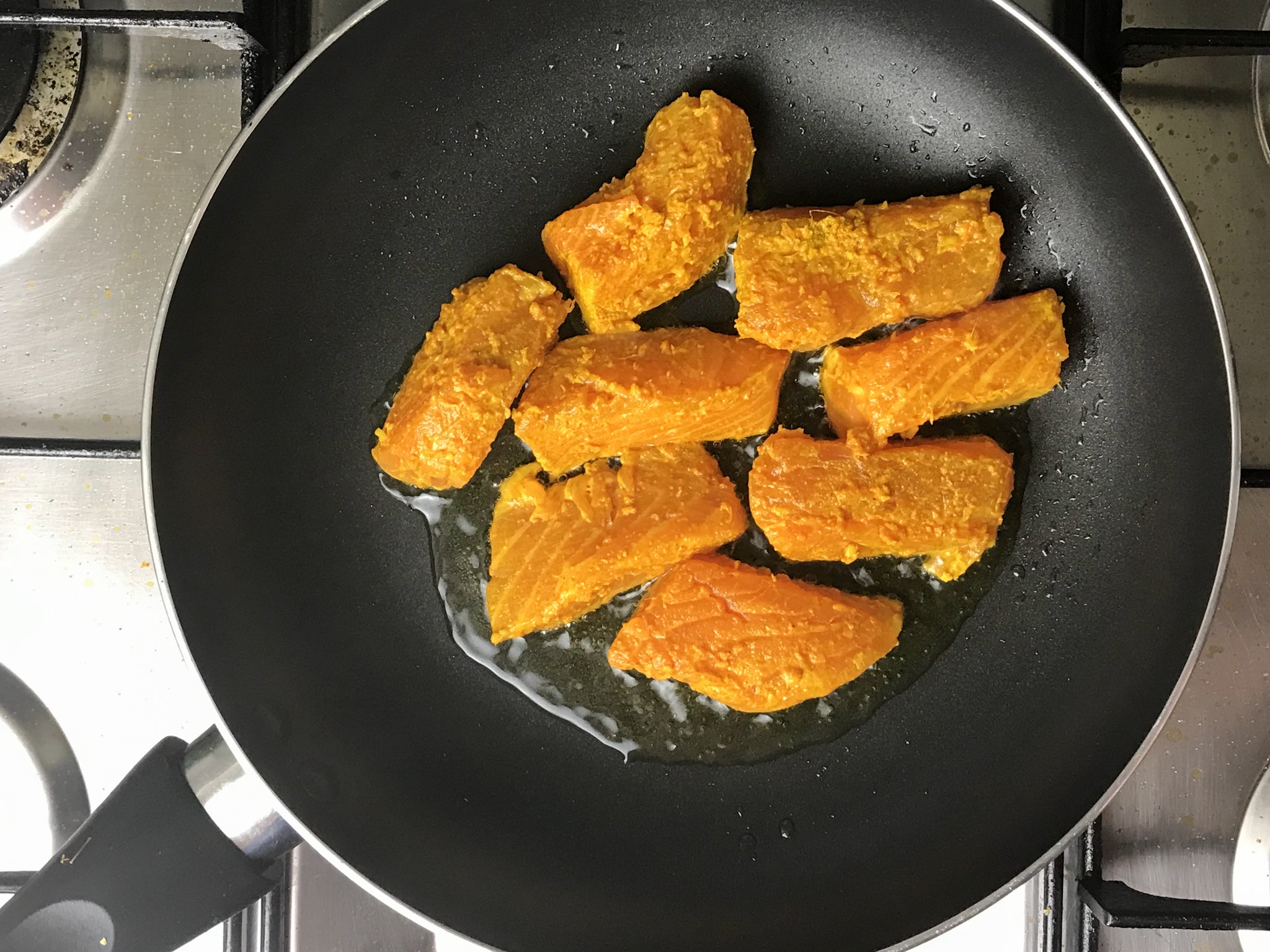 How To Make Masala Fried Salmon