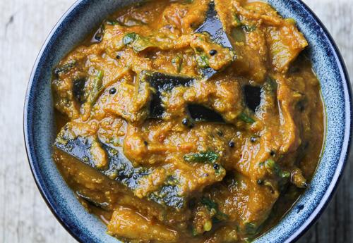 Spicy Baingan & Coconut Curry / Eggplant & Coconut Curry